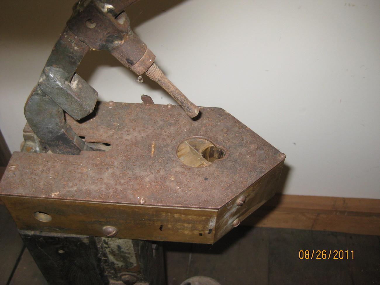 Vintage Wine Bottle Corking Machine Floor model