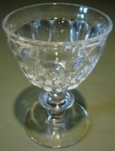 Thumbprint Liquor Cocktail Jeannette Glass Co - $8.99