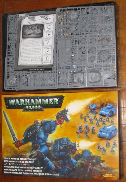 * Warhammer 40,000 Space Marine Megaforce OOP new in box