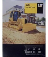 2003 Caterpillar D3G Crawler Tractor Brochure - Color - $13.00