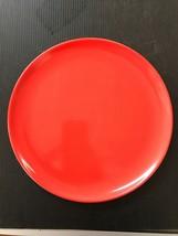 """Vintage Homer Laughlin Epicure Retro Red  10"""" Dinner Plate D15 - $19.34"""