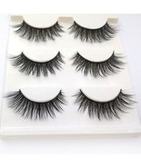 Trcoveric 3D Fake Eyelashes Makeup Hand-made Dramatic Thick Crisscross D... - $17.17