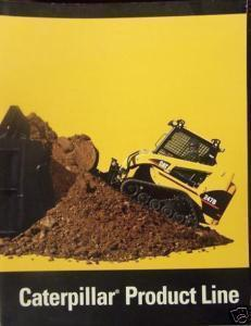 2004 Caterpillar Construction/Forestry Equipment Full Line Brochure - Full Color