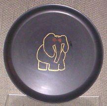 """EAMES ERA MID CENTURY MODERN-- COUROC ROUND ELEPHANT TRAY 10 1/2"""" - $39.95"""