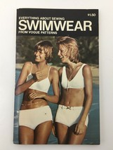 Vintage Vogue Patterns Book Everything About Sewing Swimwear 1970s USA - $19.75