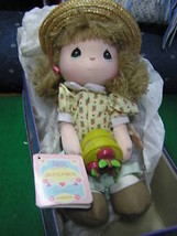 "1988 PRECIOUS MOMENTS Doll W/Stand ""September""..........SALE....FREE POS... - $15.05"