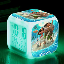 Disney Moana #02 Led Alarm Clock Figures LED Alarm Clock - $25.00