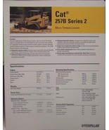 2007 Caterpillar257B Series 2 Track Loader Brochure - $6.00