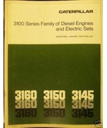 Caterpillar 3160, 3150, 3145 Engine, Generator Sets Brochure - $15.00