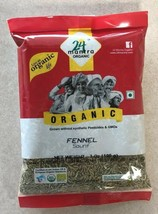 Organic Fennel Seeds Raw 7 Oz (200 grams) - Free USA Shipping! - $8.64