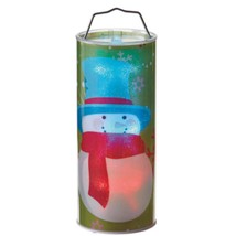 "Midwest 12"" B/O Transparent Snowman LED Lighted Hanging Christmas Lantern - $26.72"