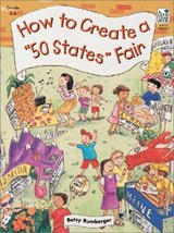 How To Create A 50 States Fair [Paperback] [Jan 01, 2000] Rumberger, Betsy - $3.69