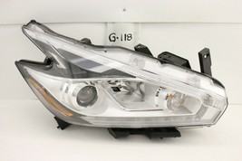 OEM HEADLIGHT HEADLAMP HEAD LIGHT 15-18 NISSAN MURANO HALOGEN chip rear ... - $222.75