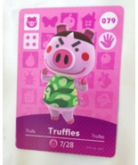 079 - Truffles - Series 1 Animal Crossing Villager Amiibo Card - $9.99