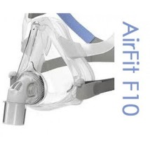ResMed AirFit F-10 Full Face CPAP Mask with Headgear - $144.00