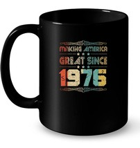 Vintage Retro 1976 42th 42 Years Old Birthday Gift Gift Coffee Mug - $13.99+