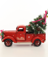 Vintage RED PICK UP TRUCK, Christmas style, Locomotive Decor * Free Air ... - $109.00