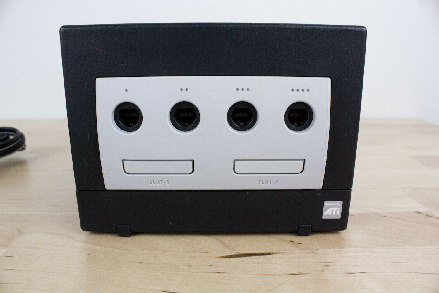 Nintendo GameCube Jet Black Console (DOL-001) Power Adapter & AV Cable  Tested!