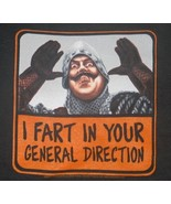 Monty Python & The Holy Grail French Fart T-Shirt Size Large, NEW UNWORN - $14.50