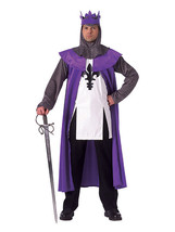 RENAISSANCE FAIRE KING STANDARD SIZE COSTUME - NEW!!!!! - $50.03