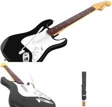 Wireless Fender Guitar Controller Xbox One Black Rock Band 4 Fret Button... - $60.37