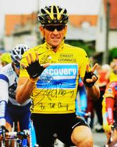 LANCE ARMSTRONG Signed 2005 Tour de France 16x20 Photo w/7x TDF Champ - ... - $276.21