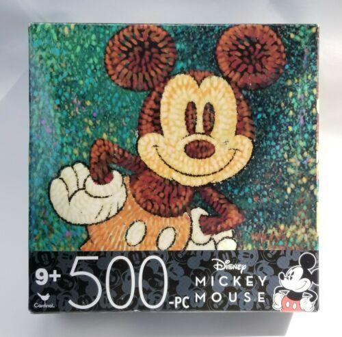 Disney Mickey Mouse 500 Piece Jigsaw Puzzle