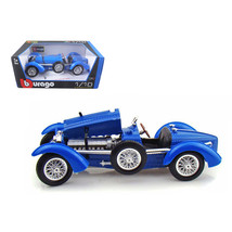 1934 Bugatti Type 59 Blue 1/18 Diecast Model Car by Bburago 12062bl - $56.69