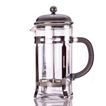French Press Coffee, Espresso and Tea Maker 20 Ounce 5 Cup Pot, Chrome - £14.97 GBP