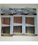 Goody Brunette Bobby Pins Hair Pins 48 pc Lot of 3 #02190 - $12.99