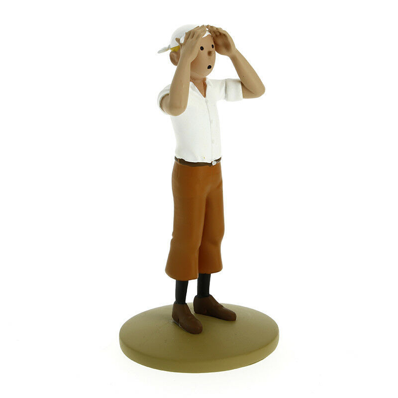 Tintin in the desert resin figurine statue Official Tintin Product