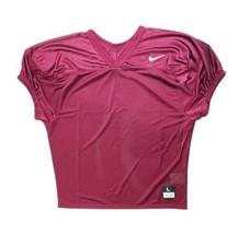 Nike Short Sleeve Core Practice Mesh Football Jersey Men's XXXL Maroon 8... - $28.70