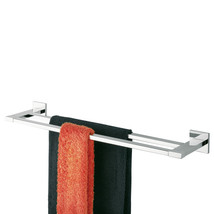 Towel Rack Double Tiger Items Polished Stainless Steel - $117.81