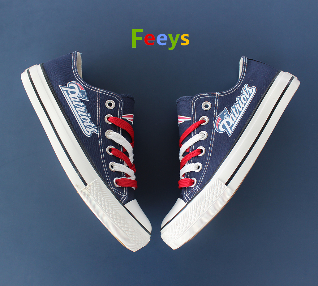 New England Patriots shoes Patriots sneakers Fashion Christmas gift birthday for