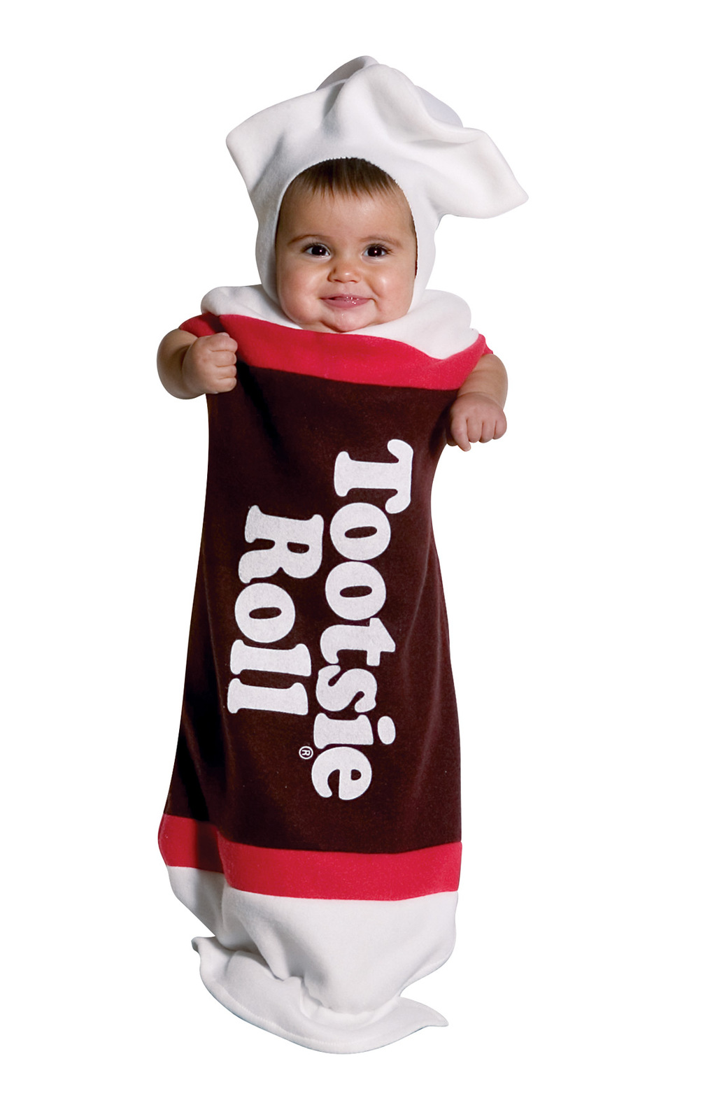Tootsie Roll Baby Bunting , Infant Costume , 3 to 9 MONTHS , Free Shipping