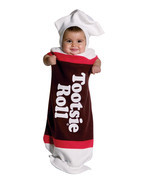 Tootsie Roll Baby Bunting , Infant Costume , 3 to 9 MONTHS , Free Shipping - £26.60 GBP