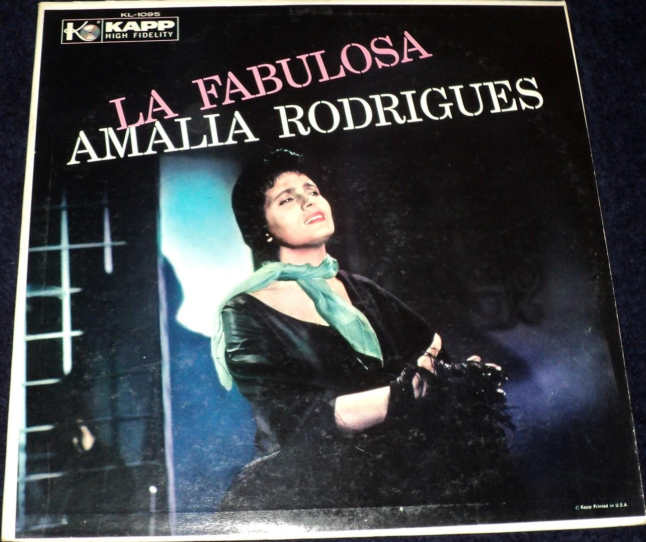 AMALIA RODRIGUES / LA FABULOSA LP /PORTUGAL /FADO /F. DE CARVALHO, COND. /RARE!