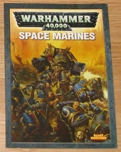 * Warhammer 40,000 Codex Space Marines OOP - $10.00