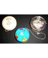3 Vintage YO-YO's - DUNCAN GLOW, WORLD MAP & YO... - $19.99