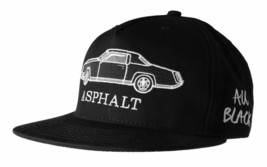 Asphalt Yacht Club AYC All Black 5 Panel Snapback Classic Car Baseball Hat NWT image 2