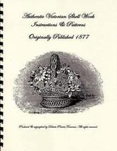Victorian Shell Work Book Make Ornaments Making 1877 - $12.99