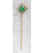 Elegant Antique Victorian Emerald Cut Glass Sti... - $12.95