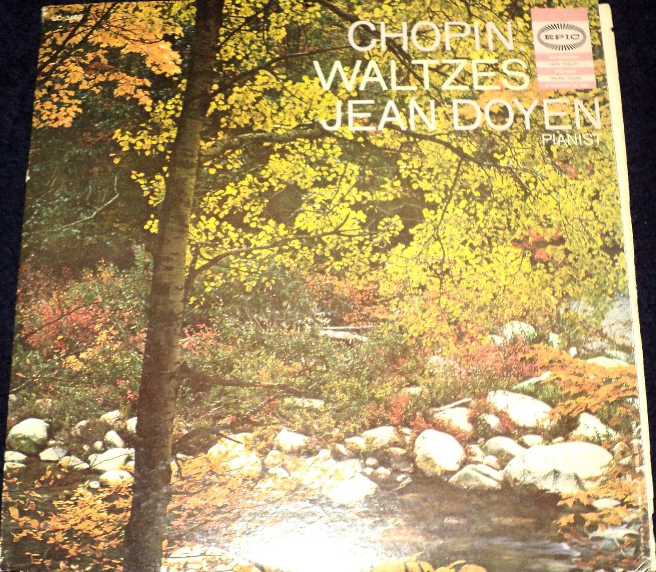 JEAN DOYEN / CHOPIN WALTZES LP
