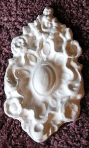 Mold, Plaster Mold, DC Medallion Mold, Concrete Mold, Craft Mold