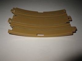 1989 Aurora Devil's Ditch Slot Car Playset piece: 1/8 loop Track Section - $3.00