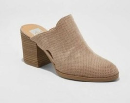 New DV Laura Taupe Mule Heels Womens Shoes