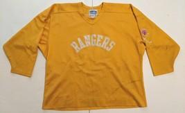 "1980s New York Rangers ""Game Worn"" #21 Yellow CCM Practice Jersey! DB - $79.99"
