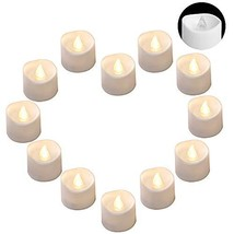 DRomance LED Flamelss Votive Tealight Candles Battery Operated, Set of 1... - $9.10