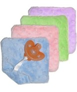 Baby's GumDrop Cuddle Square and Pacifier - $13.00