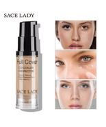 LADY Face Concealer Cream Full Cover Makeup Liquid Corrector Foundation ... - $6.88+
